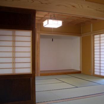格天井が醸し出す日本の文化